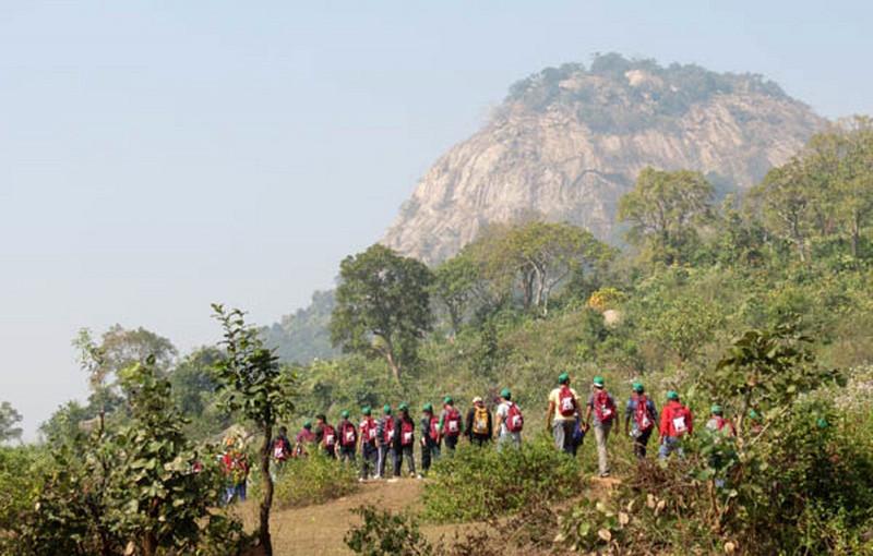Trekking in purulia