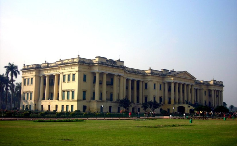 Hazarduari Palace and Museum entry at early morning, murshidabad, West Bengal