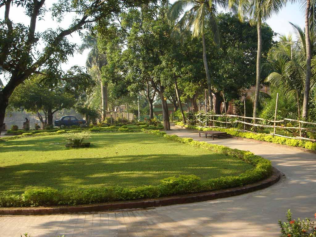 Jayrambati garden, Bankura