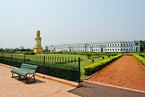 Nizamat Imambara A hallmark of Islamic architecture in Murshidabad, West Bengal, long view