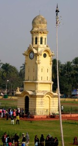 The clock tower, Hazarduari, Murshidabad, West Bengal