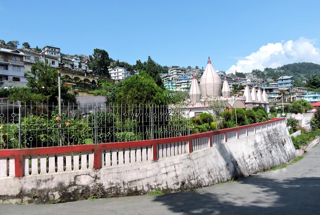Mangal Dham entry in Kalimpong