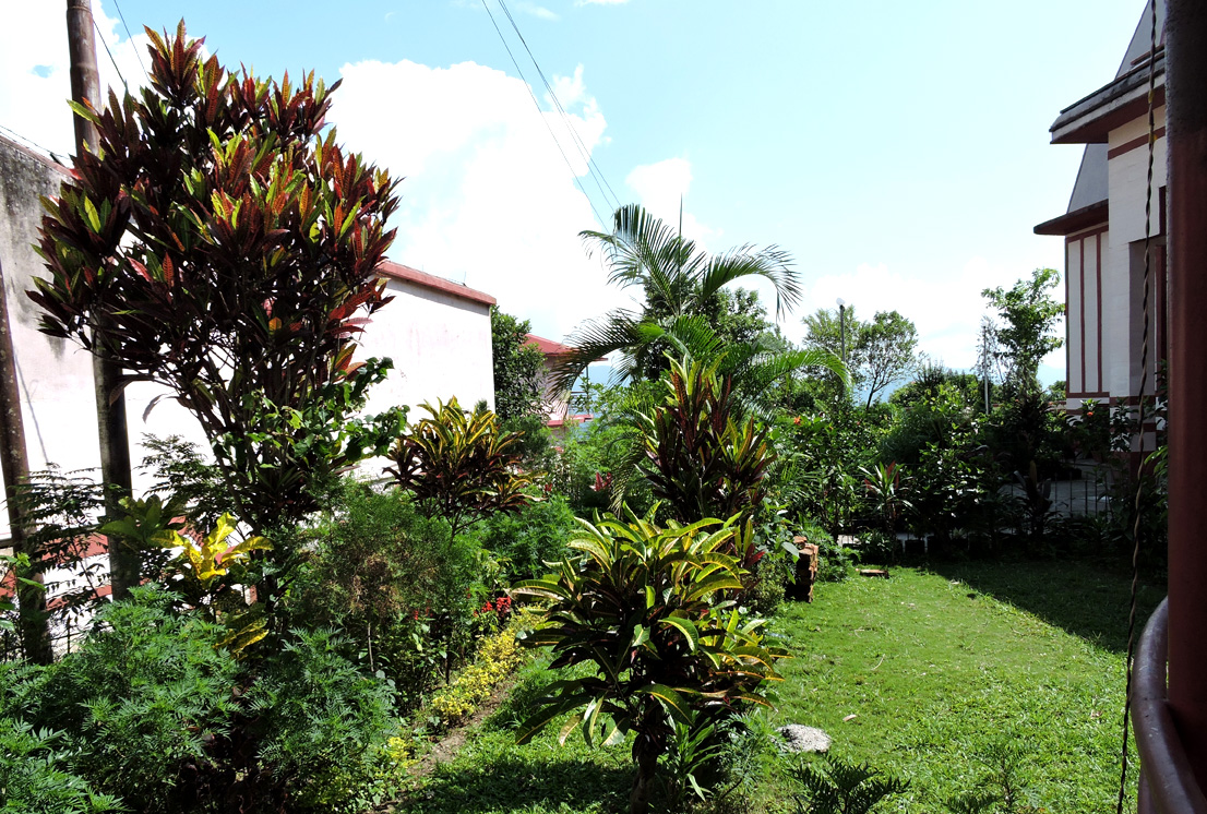 Mangal Dham garden in Kalimpong