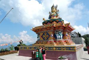 buddha statue at kalimpong