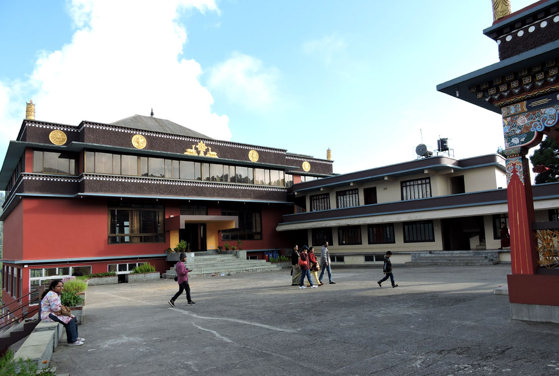 Lava buddha monastery campus