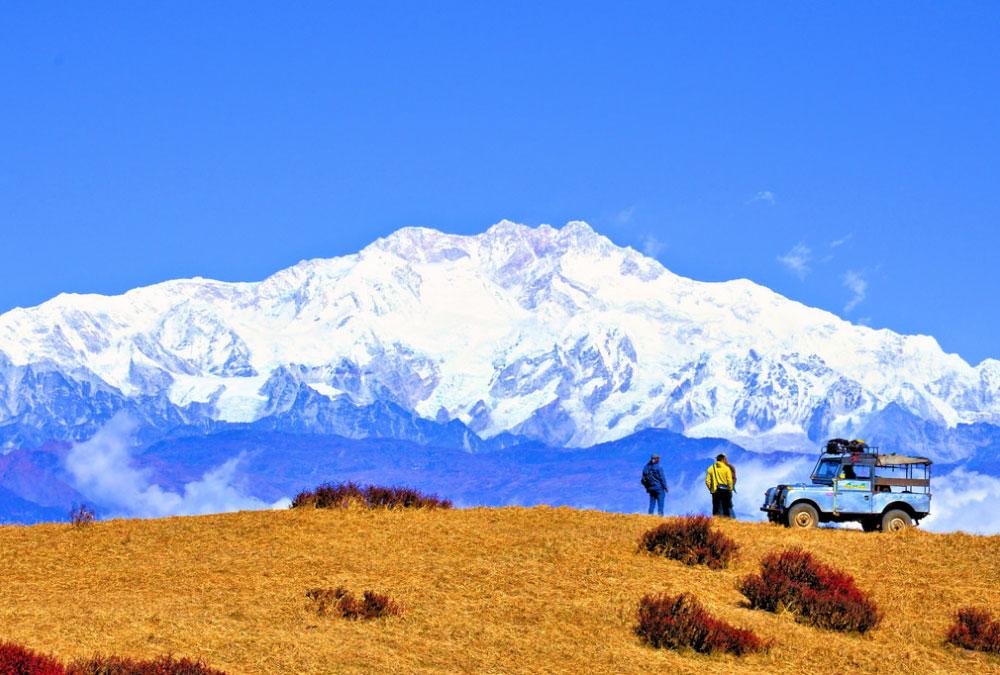 View of Kangchenjunga